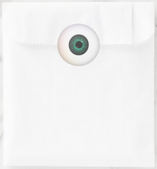 Green Eyeball Stickers
