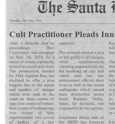 Cult Practitioner Pleads Not Guilty