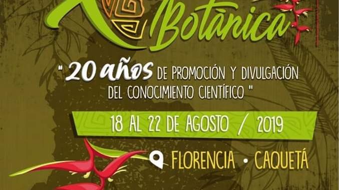 X CONGRESO COLOMBIANO DE BOTÁNICA