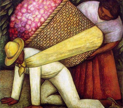 "El Cargador de Flores - Diamond Painting ""35 x 35"""