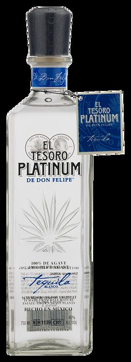 Tequila Tesoro de Don Felipe Blanco