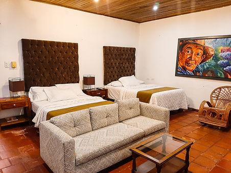 Habitación Twin Hotel en valledupar CSR.
