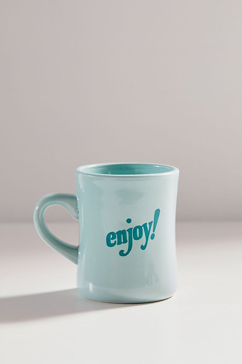 Enjoy 10 oz Retro Mug