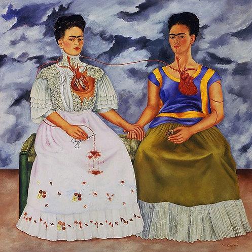 """Las Dos Fridas - Diamond Painting """"25 x 30"""""""