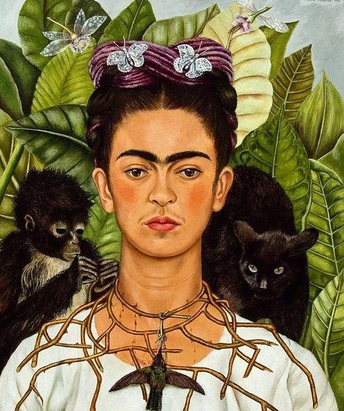 "Frida Kahlo - Diamond Painting ""30 x 40"""