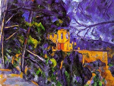"Cezanne Le Château - Diamond Painting ""20 x 30"""
