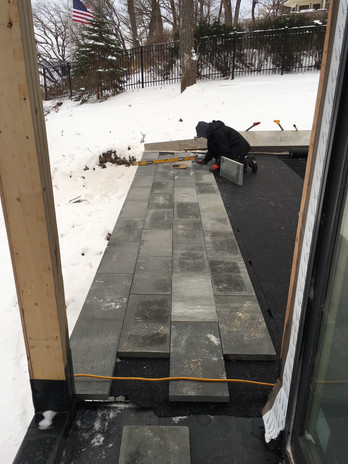 Bluestone Deck