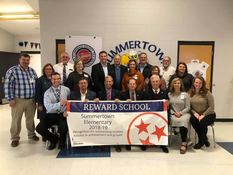 U.S. Secretary of Elementary and Secondary Education Visits Summertown Elementary