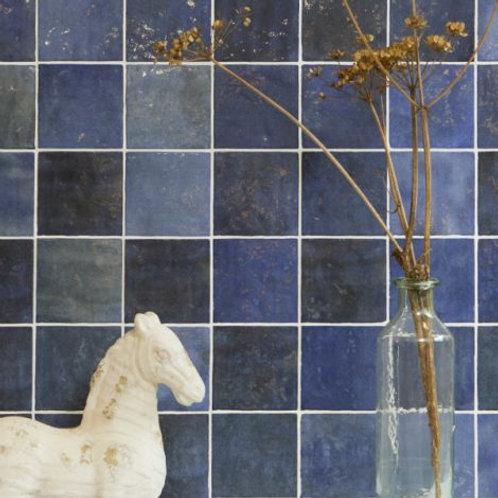 Bazaar Colonial Blue Gloss Ceramic