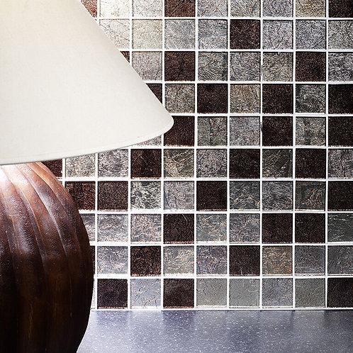 Taunton Leaf Glass Mosaic