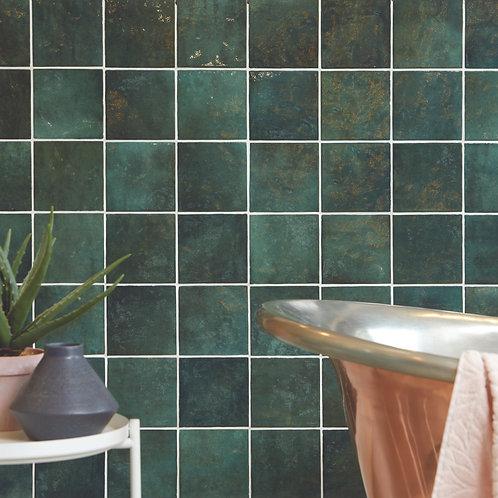 Bazaar Moss Green Gloss Ceramic