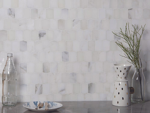 Palazzo Picket Mosaic  Marble Polished