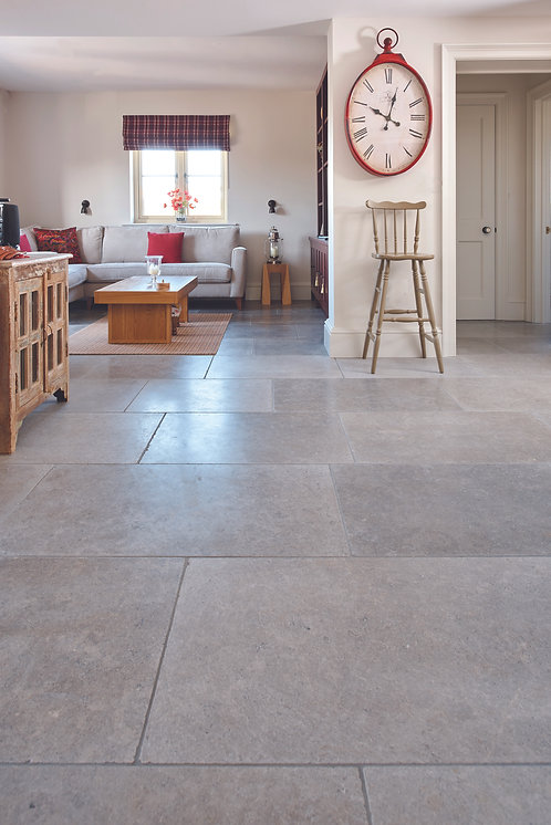 Corfe Limestone Tumbled Finish