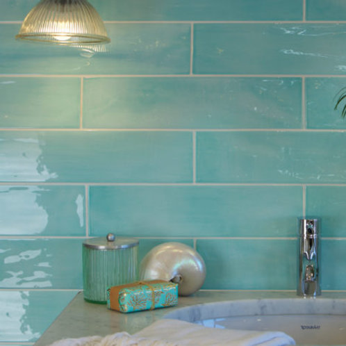 Kennet Aqua Gloss Porcelain