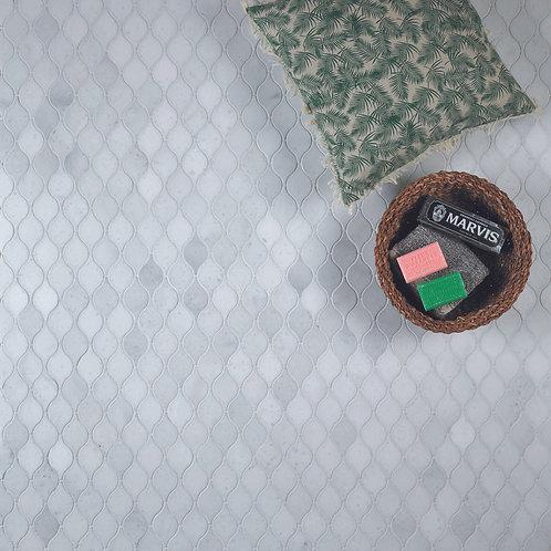 Long Island Marble Tear Drop Mosaic