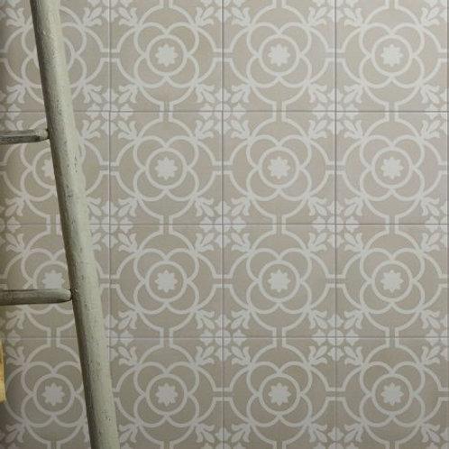 Parisian Café Flore Textured Porcelain
