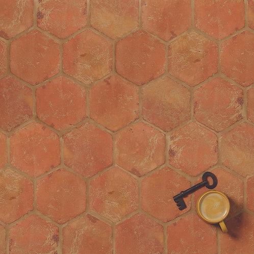 Marlborough Handmade Hexagon Terracotta