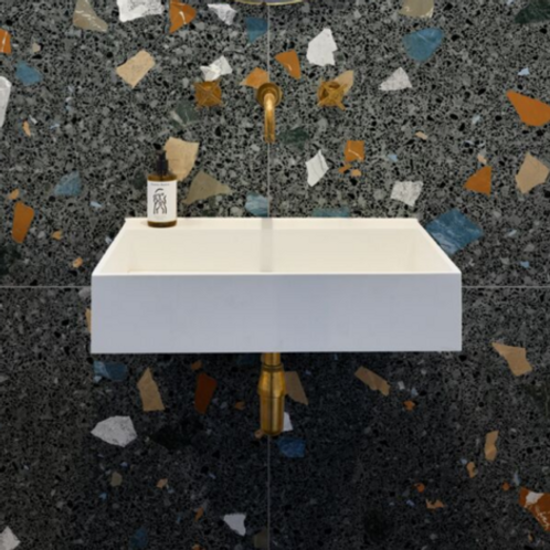 Piazza Geo Graphite Matt Porcelain