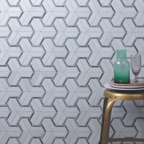 Berlin Mosaic Marble Honed
