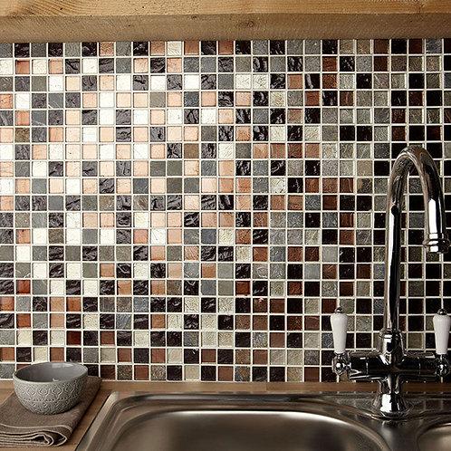 Cascade Glass & Stone Mix Mosaic