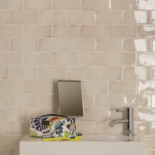 Seaton White Sands Crackle Gloss Ceramic