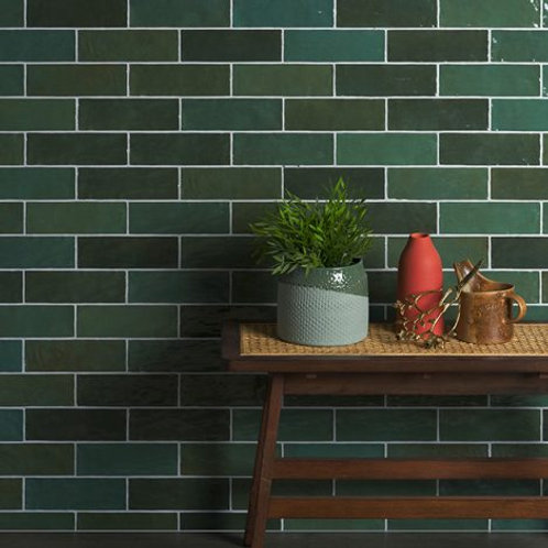 Oasis Green Gloss Ceramic