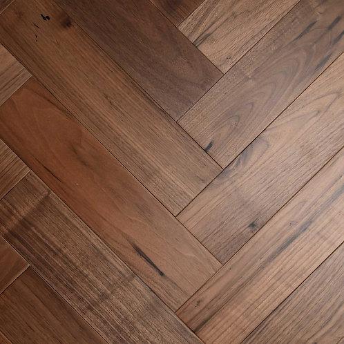 Zigzag Herringbone American Black Walnut