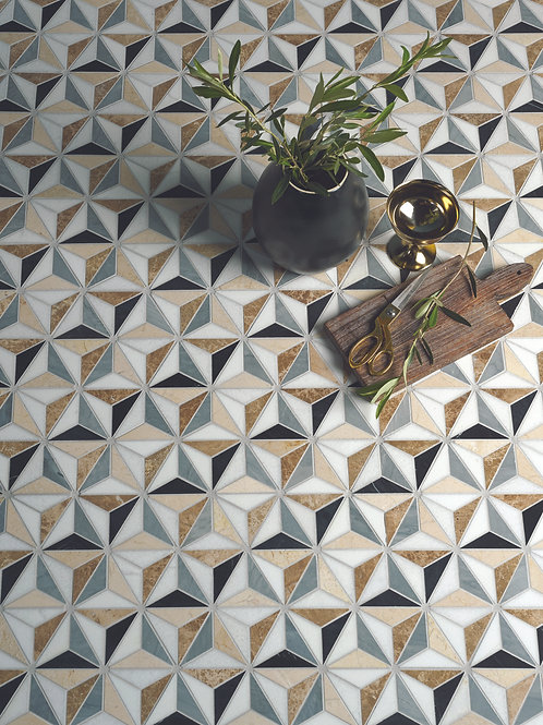 Istanbul Honed Mosaic Marble