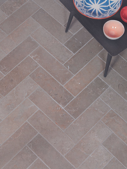 Lucca Limestone Brick Tumbled Finish