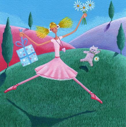 Edie in the Pink