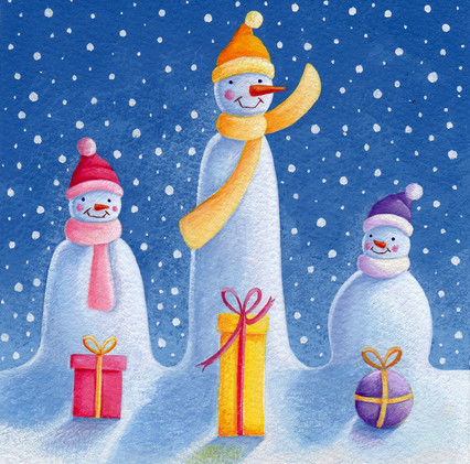 Three Snowmen