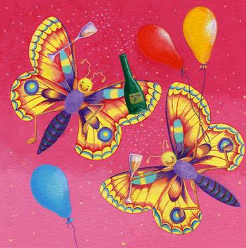 Celebration butterflies