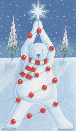 Polar Bear Xmas Tree