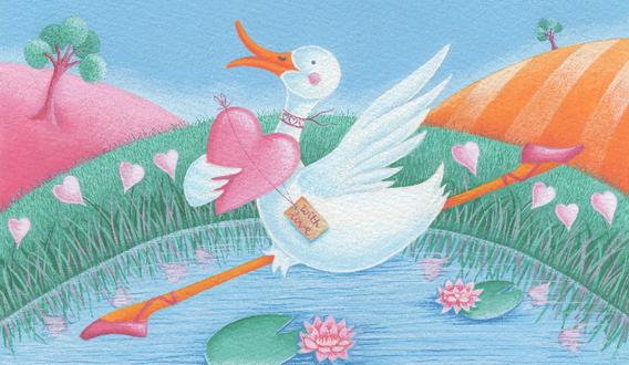 Duck & Heart