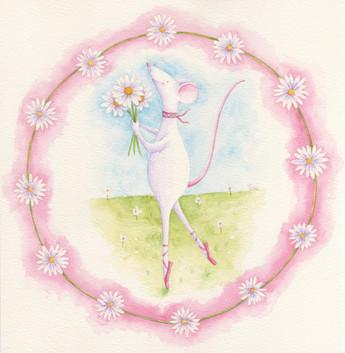 Mabel & daisies
