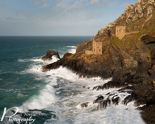Botallack Mines by Paul Norris Photo