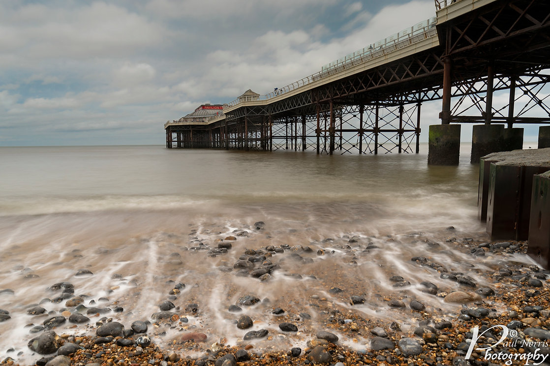Cromer pier, long exposure