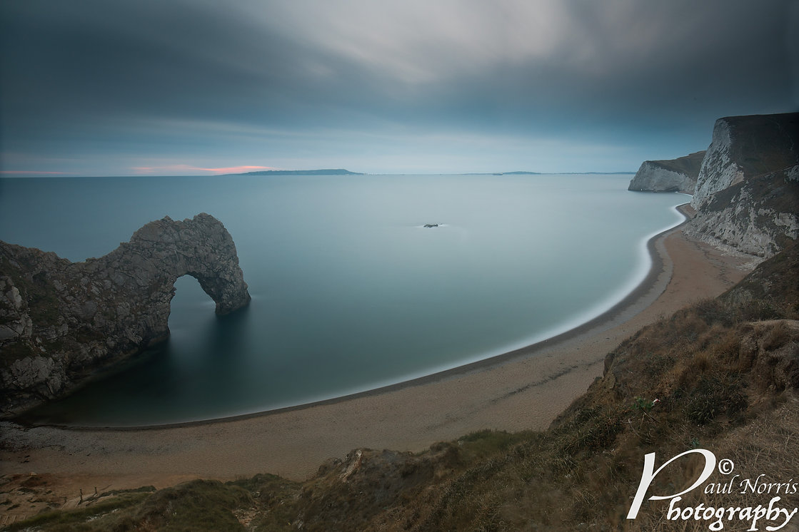 Long exposure at Durdle Door by Paul Norris Photo