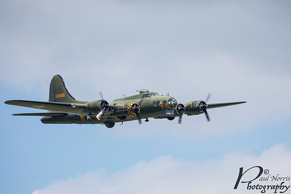 Sally B flying fortress