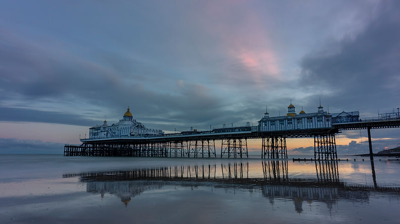 Sunset at Eastbourne pier by Paul Norris Photo