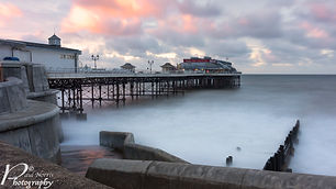 Sunset & long exposure at Cromer pier, Norfolk by Paul Norris Photo