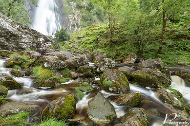 Aber Falls, North Wales by Paul Norris Photo