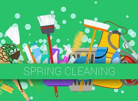 5 Reasons Why Spring Cleaning is Good for You