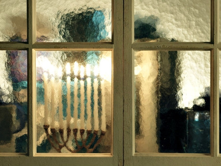 Menorahs In Our Windows
