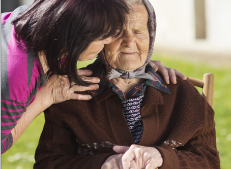 Would you take care of an elderly parent you had never met?