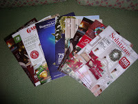 T'is the Season for…..Catalogs