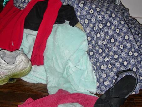 Even a Closet Needs an Out Basket