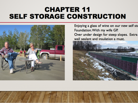 Chapter 11   Self Storage Construction