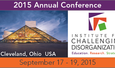 Institute for Challenging Disorganization (ICD) Conference Recap