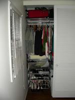 Closet Redo for Spring
